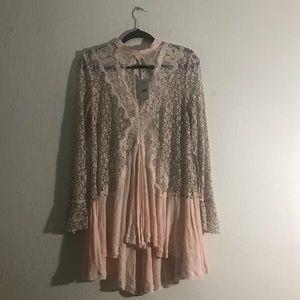 Free People• Telltale heart long sleeve dress